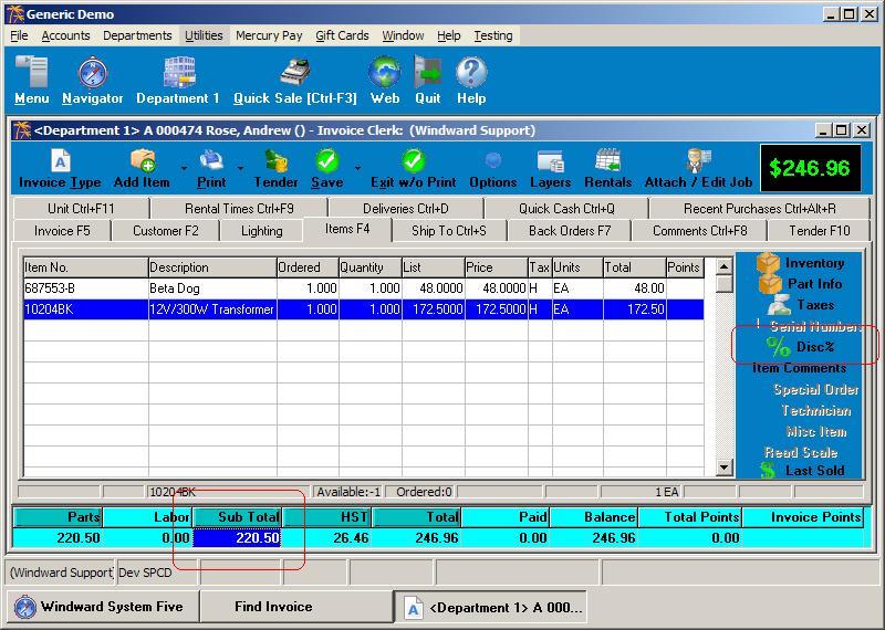 Figure 1 - Profitability analysis tools